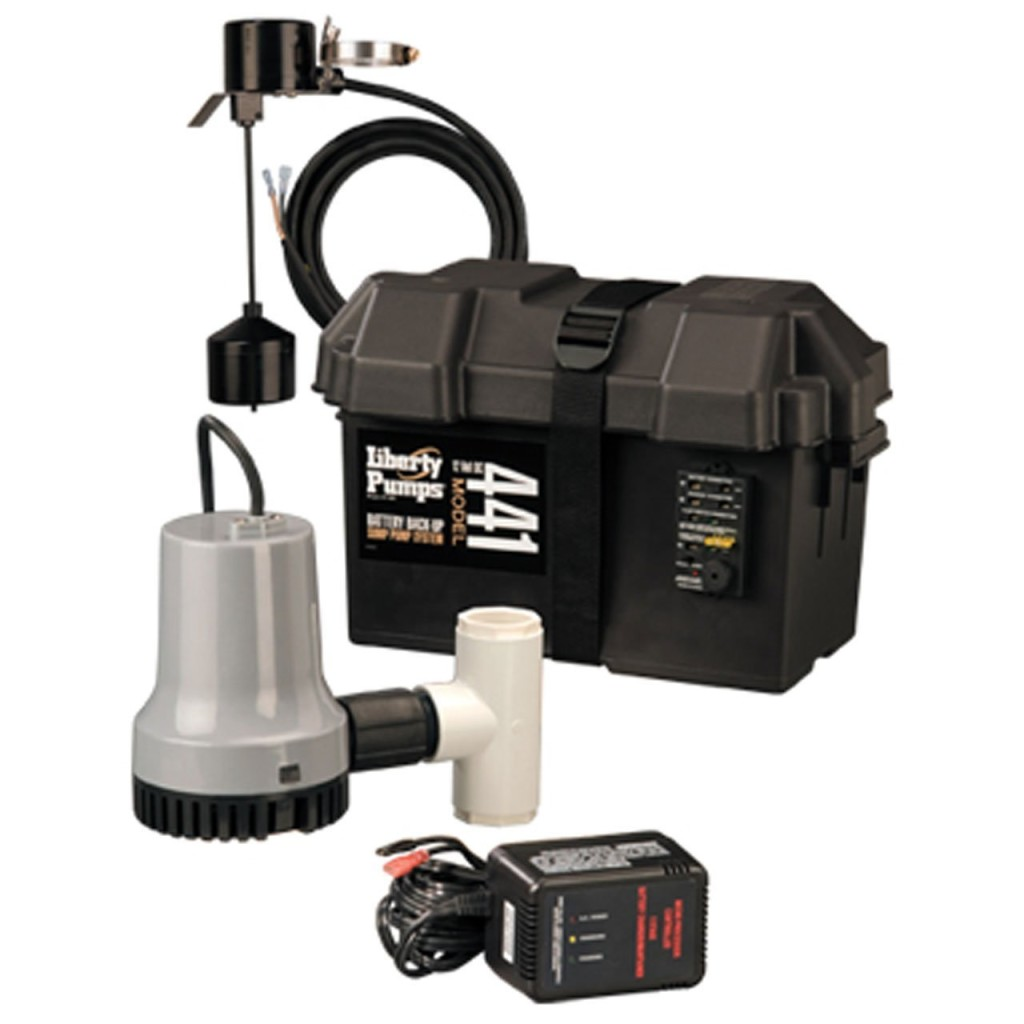 Best sump pump backup system - Liberty Pumps 441 This Backup Sump