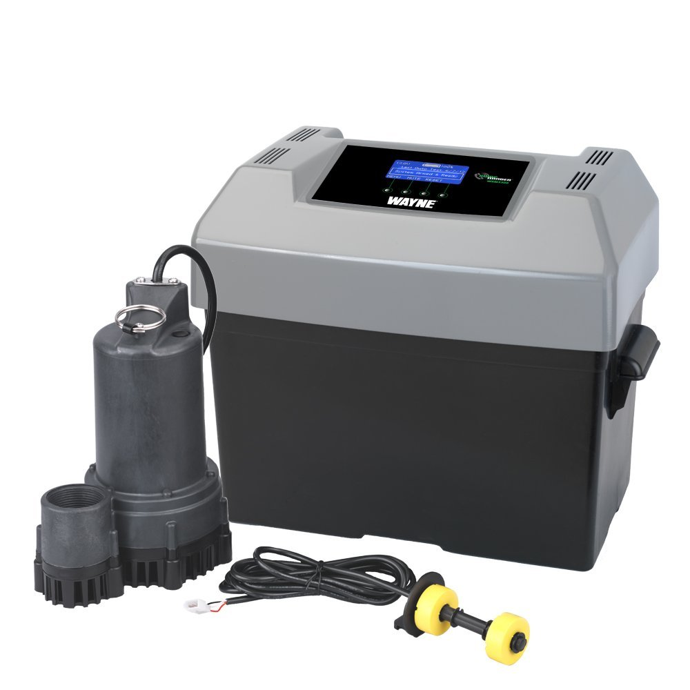 Best sump pump backup system - Running Off Of A Powerful Dc Battery This Sump Pump Will Automatically Take Over When Your Main System Is Offline